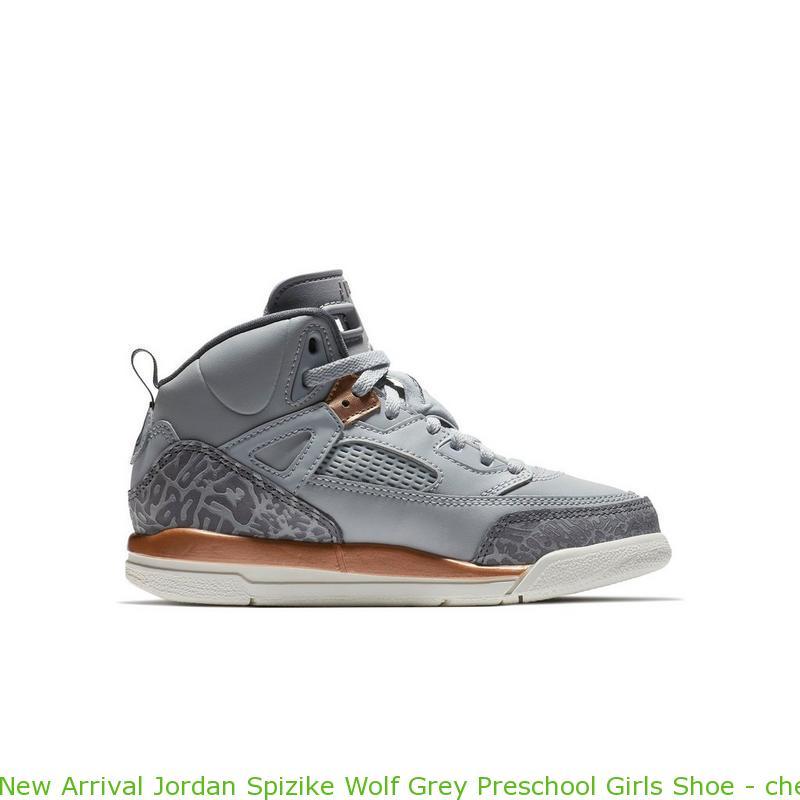 9cb6f9a36de12a New Arrival Jordan Spizike Wolf Grey Preschool Girls Shoe – cheap ...