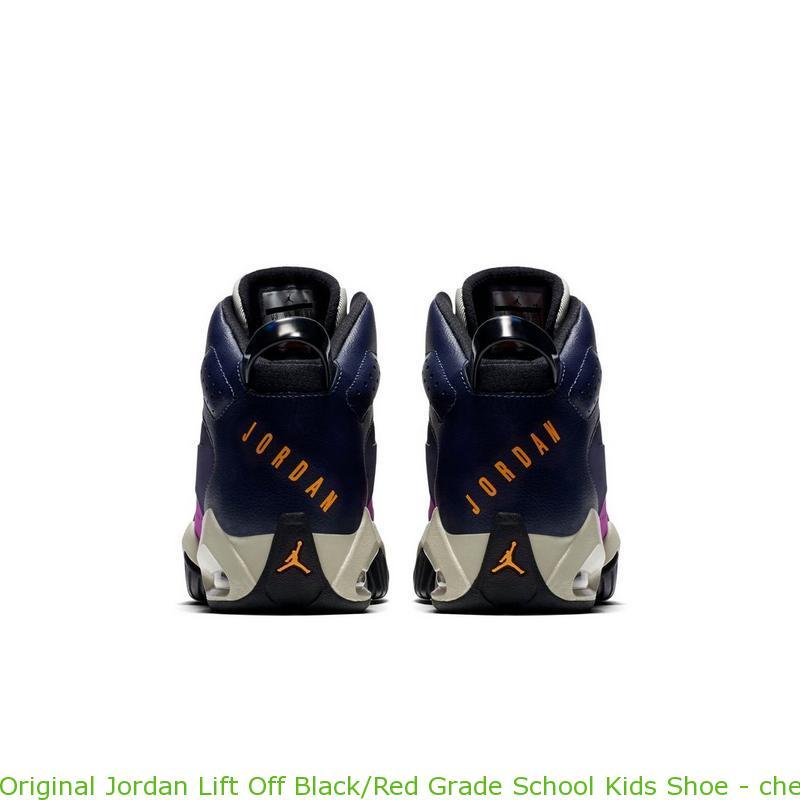 8a1a493d76a Original Jordan Lift Off Black Red Grade School Kids Shoe – cheap ...
