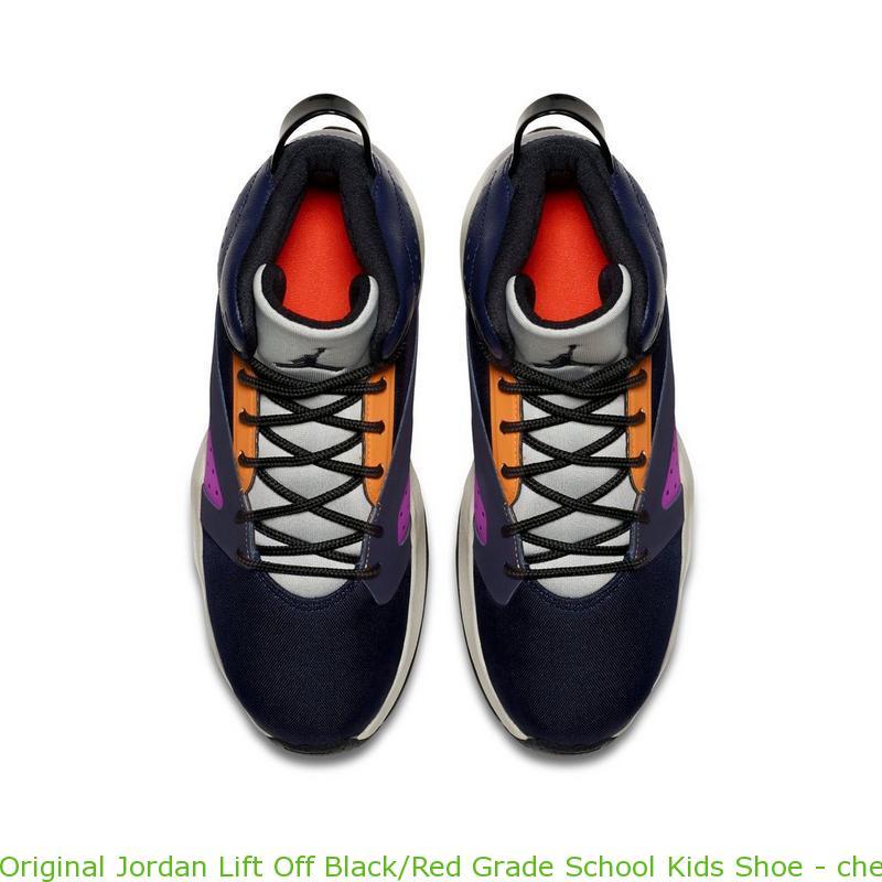 classic fit e1422 acc5f Original Jordan Lift Off Black/Red Grade School Kids Shoe - cheap jordans  xx9 - R0400