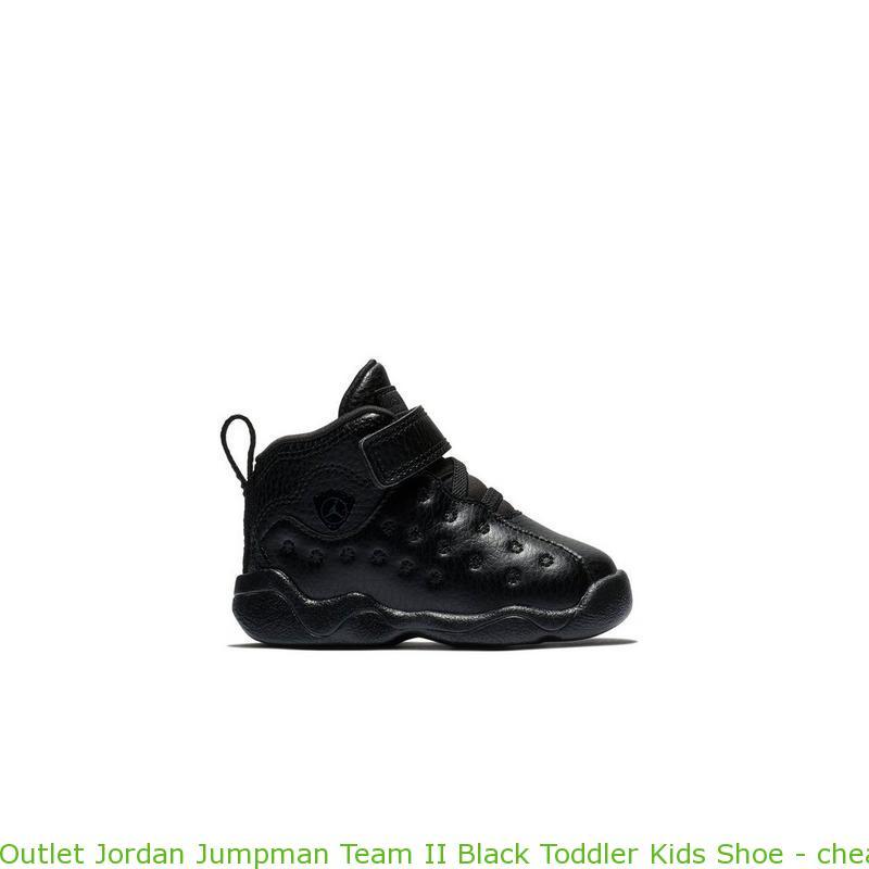 a91dbd71b1 Outlet Jordan Jumpman Team II Black Toddler Kids Shoe – cheap jordans ...