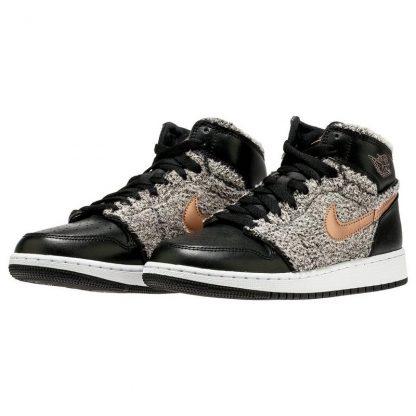wholesale dealer 3d98e 954c3 The Best Deals Jordan Retro 1 Black/Gold Grade School Girls Shoe - cheap  jordans under 100 dollars - 5994Z