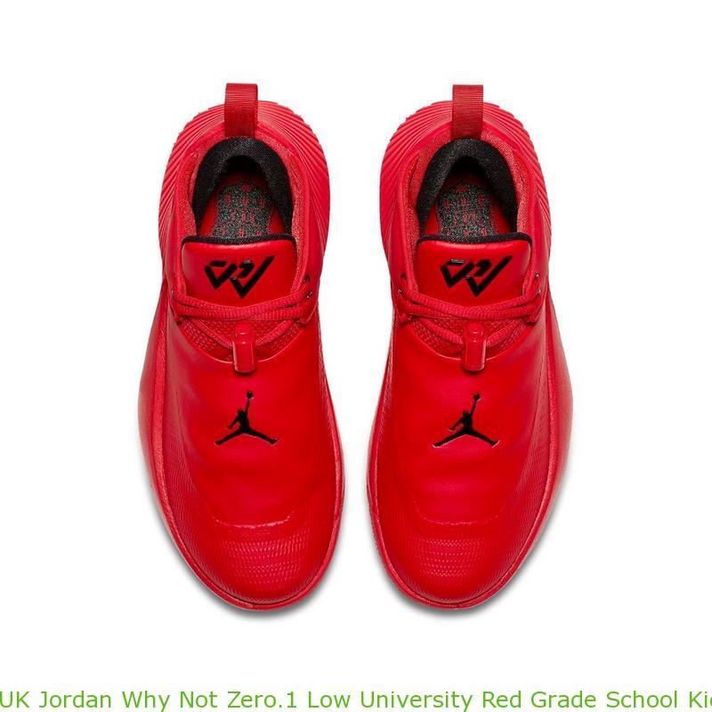 timeless design 08a28 781ed UK Jordan Why Not Zero.1 Low University Red Grade School Kids Shoe - cheap  jordans and nikes - R0258